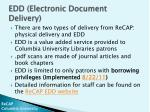 edd electronic document delivery