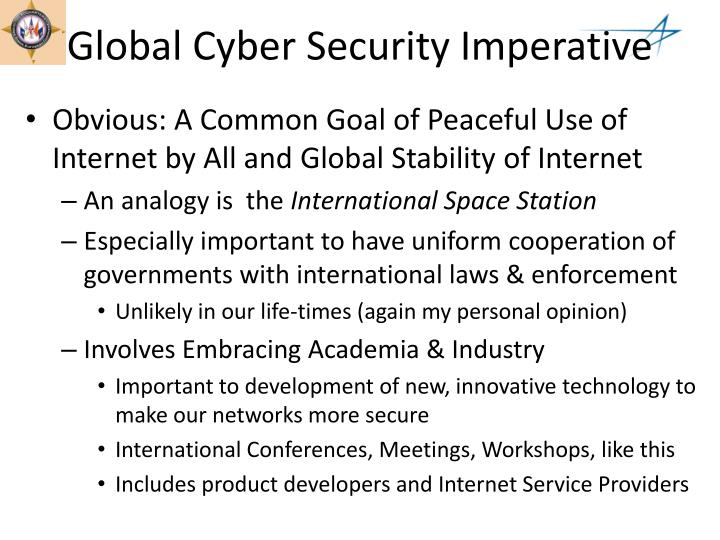 Global Cyber Security Imperative