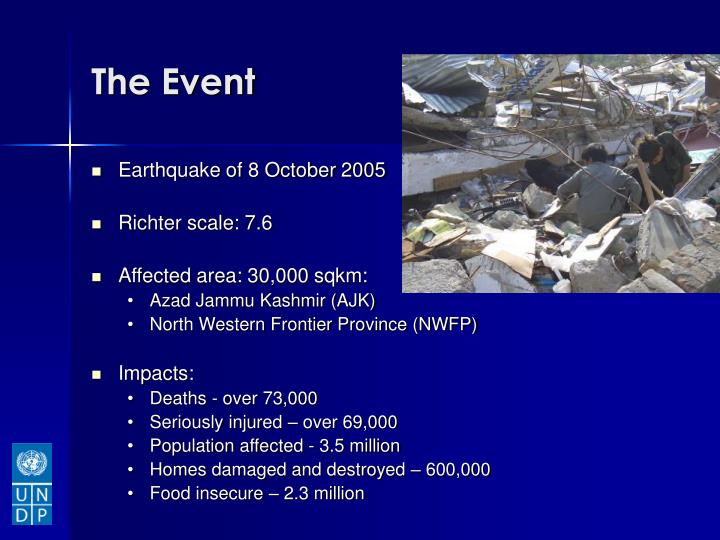 Earthquake of 8 October 2005