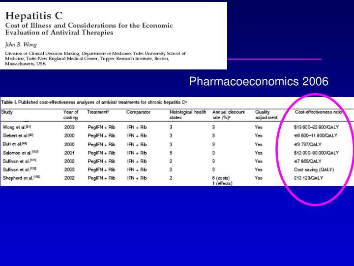 Pharmacoeconomics 2006