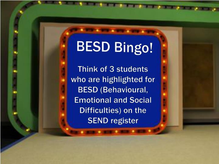 BESD Bingo!