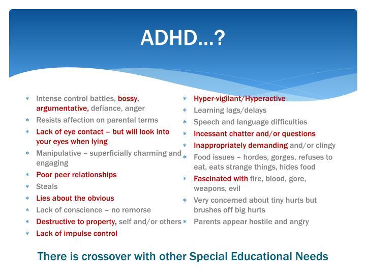 ADHD…?
