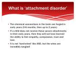 what is attachment disorder