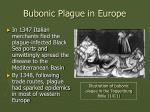 bubonic plague in europe