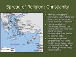 spread of religion christianity