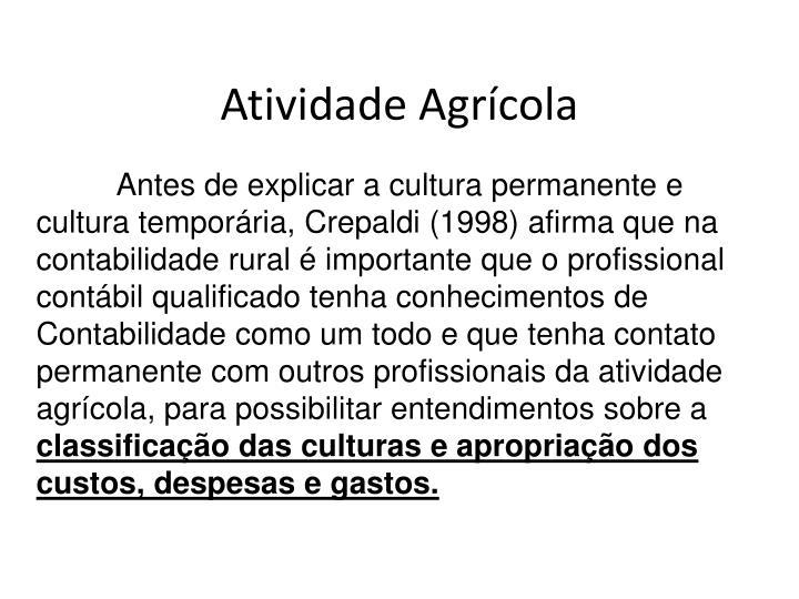 Antes de explicar a cultura permanente e cultura temporária,