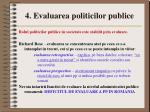 4 evaluarea politicilor publice