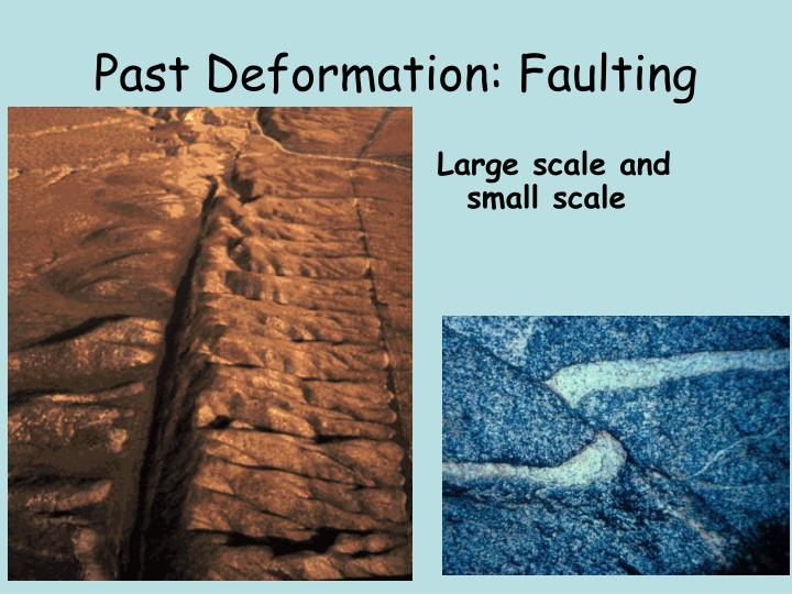 Past Deformation: Faulting
