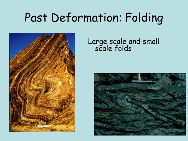 Past Deformation