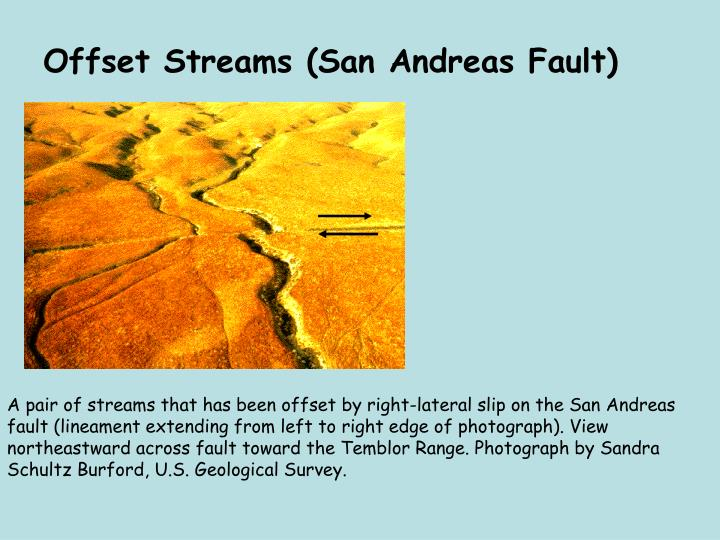 Offset Streams (San Andreas Fault)