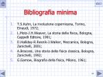 bibliografia minima