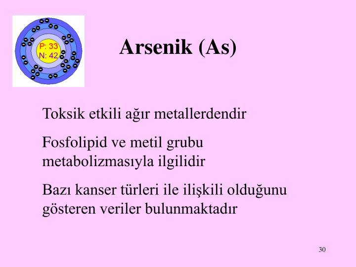 Arsenik (As)