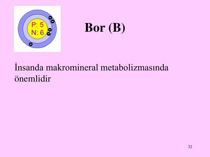 Bor (B)