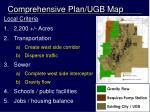 comprehensive plan ugb map3