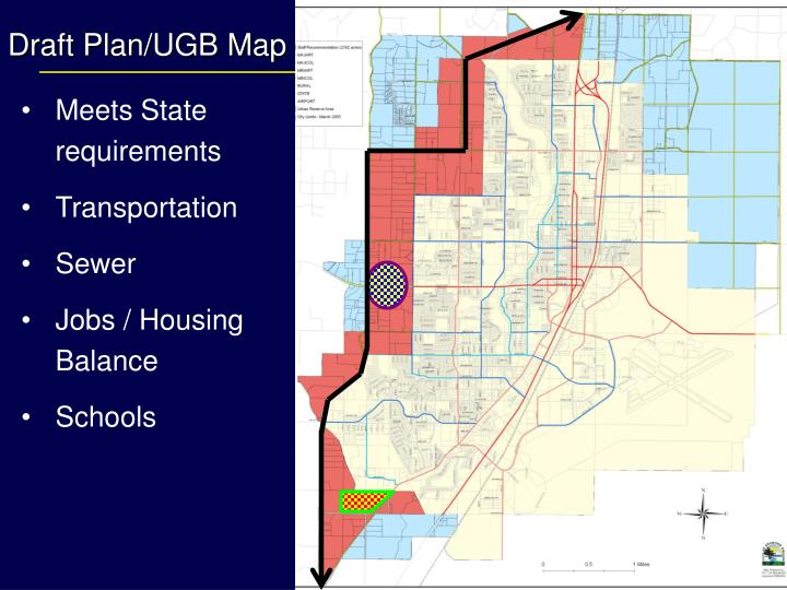 Draft Plan/UGB Map