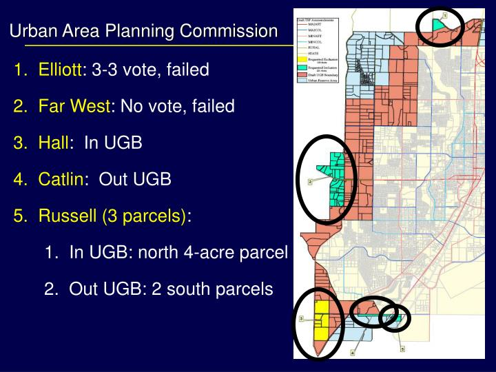 Urban Area Planning Commission