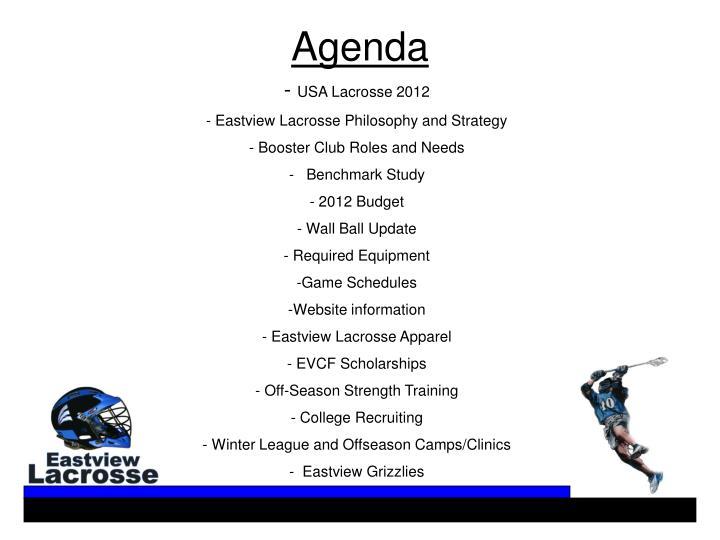USA Lacrosse 2012