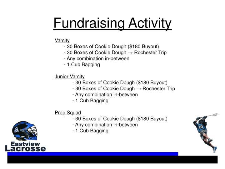 Fundraising Activity