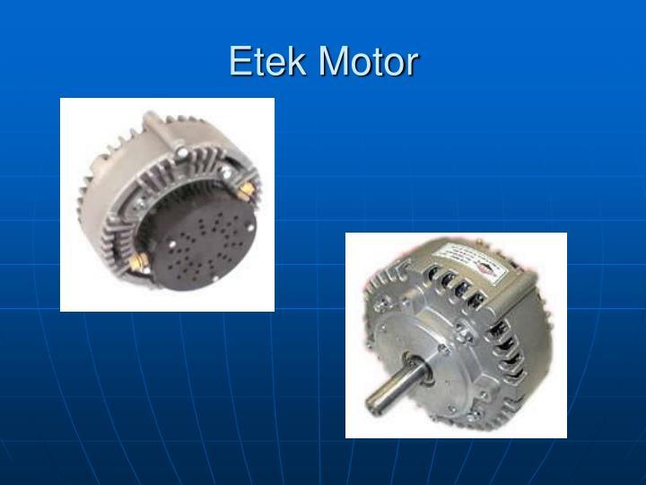 Etek Motor