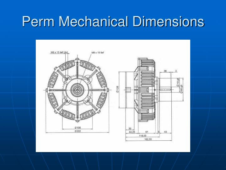 Perm Mechanical Dimensions