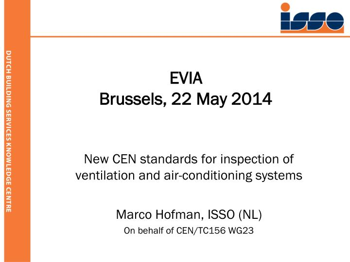 Evia brussels 22 may 2014