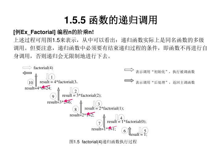 factorial(4)
