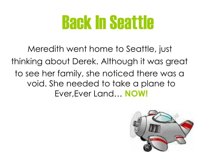 Back In Seattle