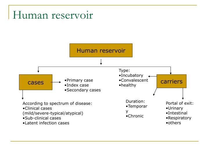 Human reservoir