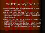 the roles of judge and jury2