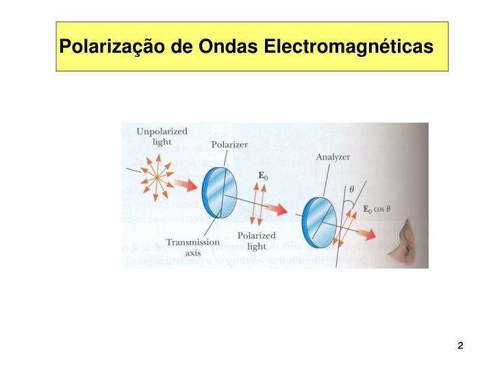 Polarização de Ondas Electromagnéticas
