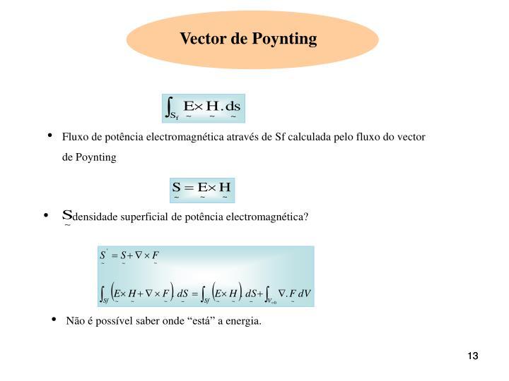 densidade superficial de potência electromagnética?
