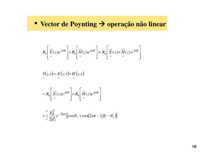 Vector de Poynting