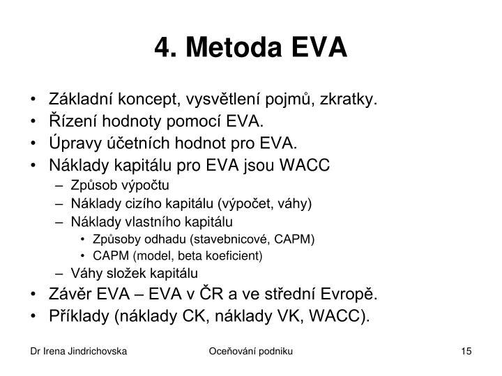 4. Metoda EVA