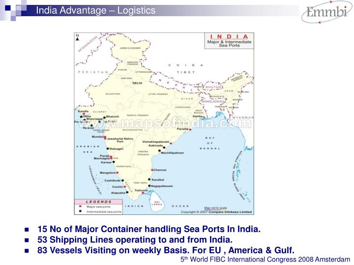 India Advantage – Logistics