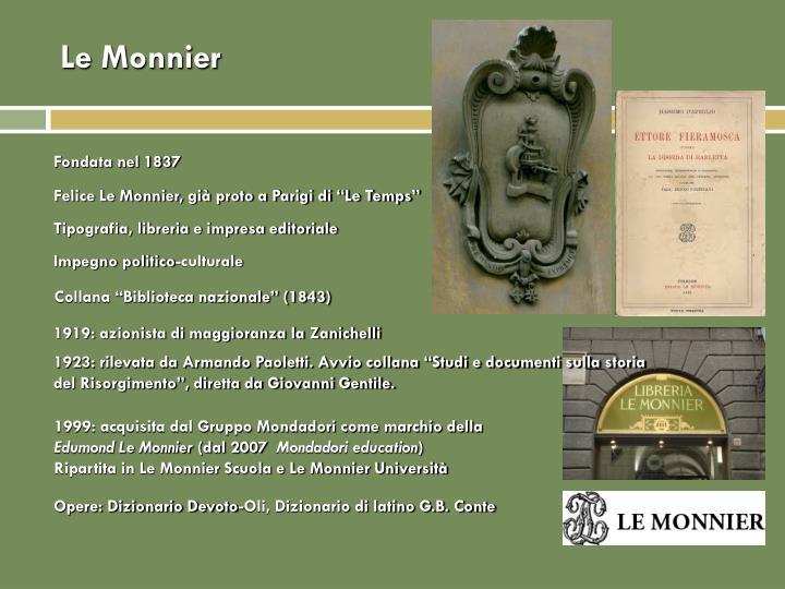 Le Monnier