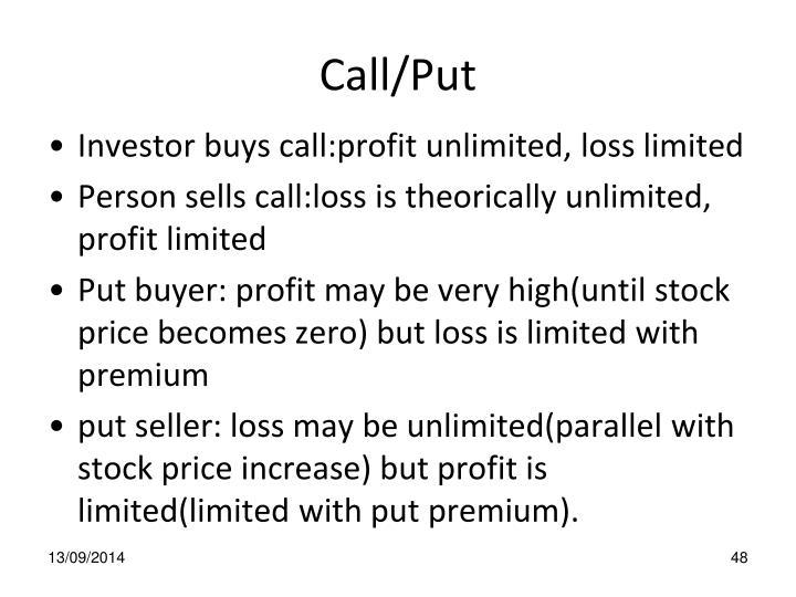 Call/Put