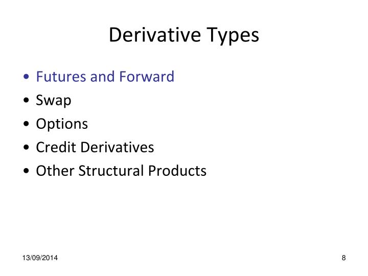 Derivative Types