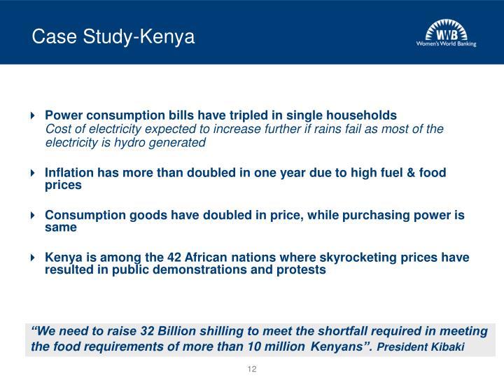 Case Study-Kenya