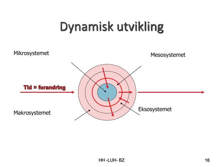 Dynamisk utvikling