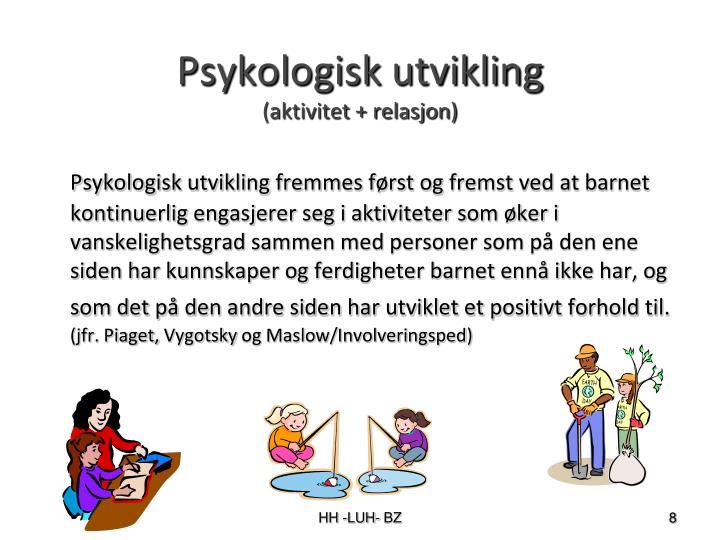 Psykologisk utvikling