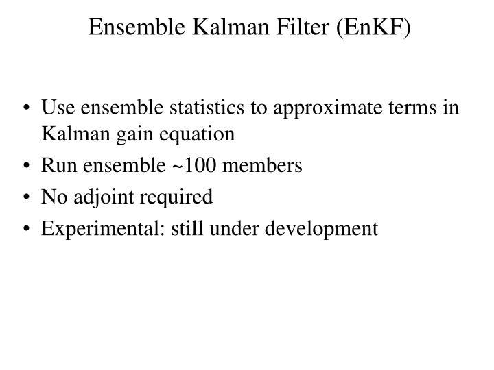 Ensemble Kalman Filter (EnKF)