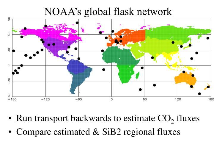 NOAA's global flask network