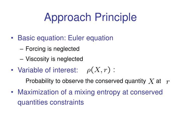 Approach Principle