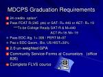 mdcps graduation requirements
