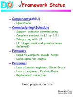 framework status