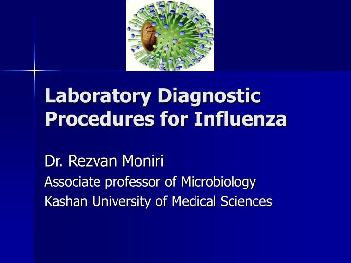 Laboratory diagnostic procedures for influenza
