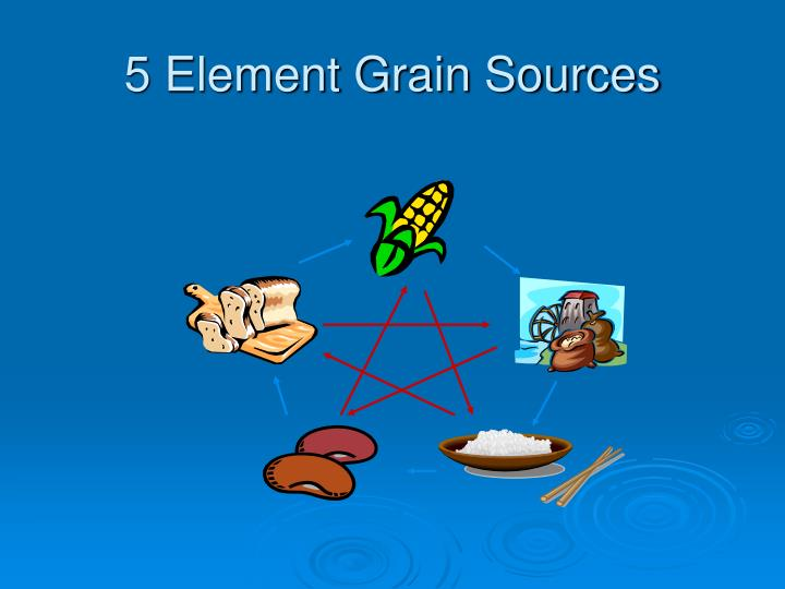 5 Element Grain Sources
