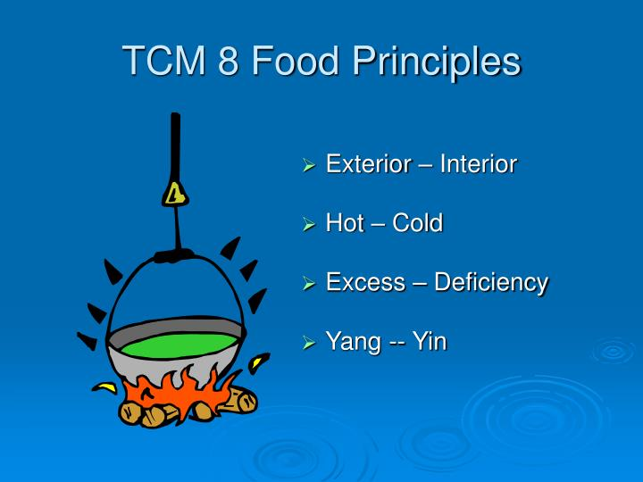 TCM 8 Food Principles