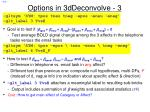 options in 3ddeconvolve 3