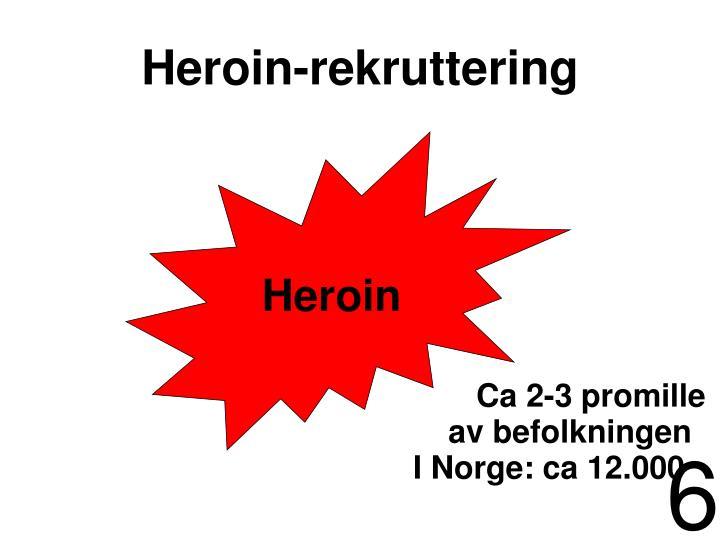 Heroin-rekruttering